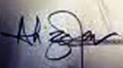 Ali Zafar's Signature