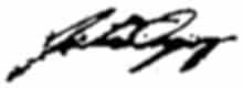 Catriona Gray Signature