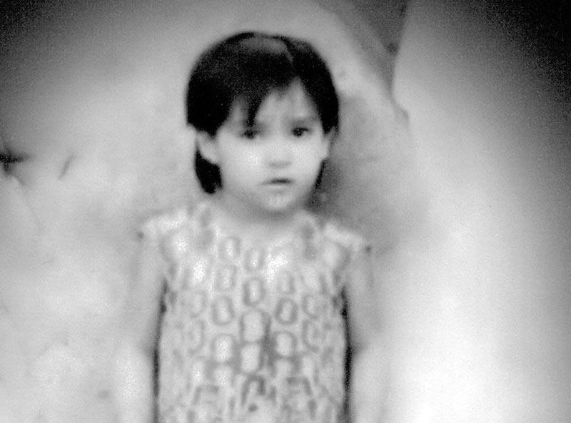 Reema Khan 3 Years old picture