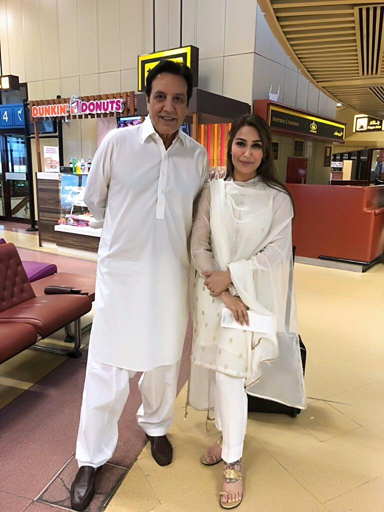 Reema Khan With Javed Sheikh