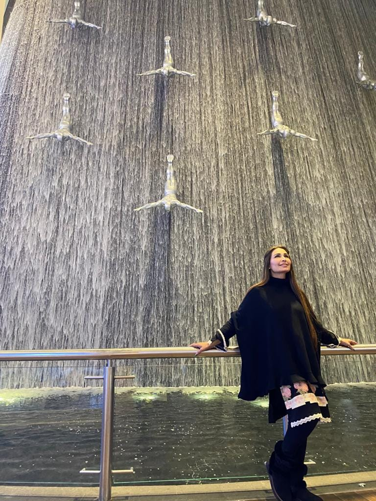 Reema Khan in Dubai