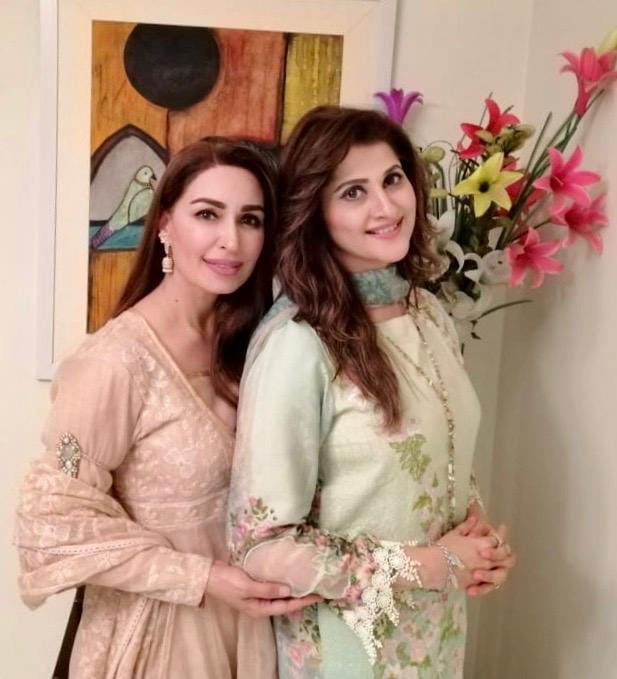 Reema Khan with Sahiba
