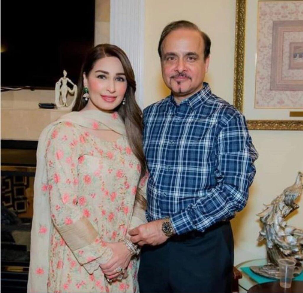 Reema Khan husband S. Tariq Shahab