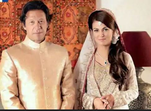 Reham Khan with Imran Khan (Ex-wife of Imran Khan)