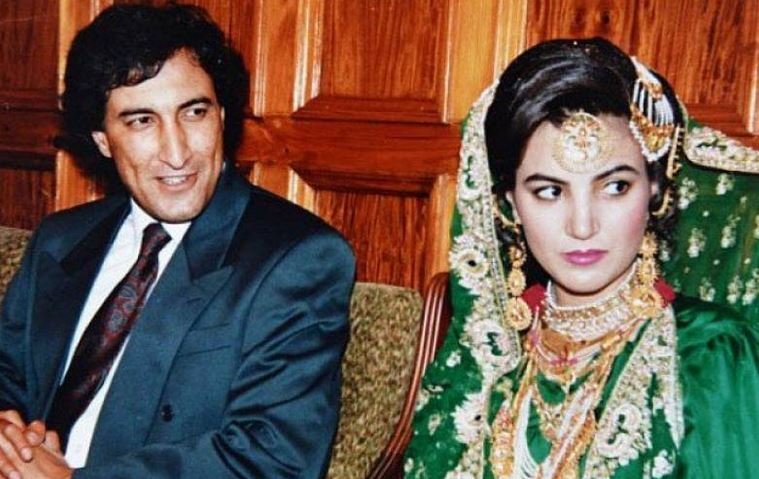 Reham Khan with ex-husband Ijaz Rehman (m. 1993–2005)