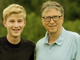 Rory John Gates with Bill Gates