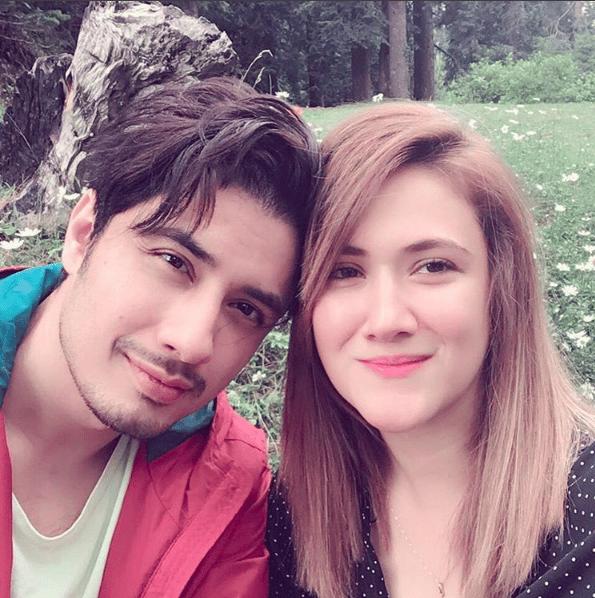 ali zafar with wife