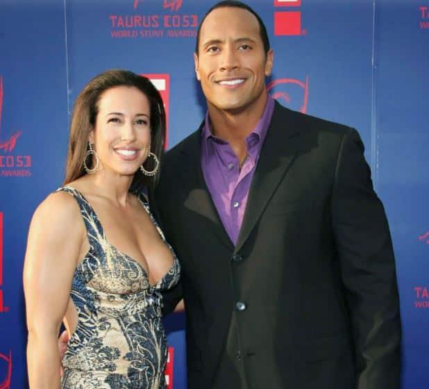 Dwayne Johnson's first wife Dany Garcia