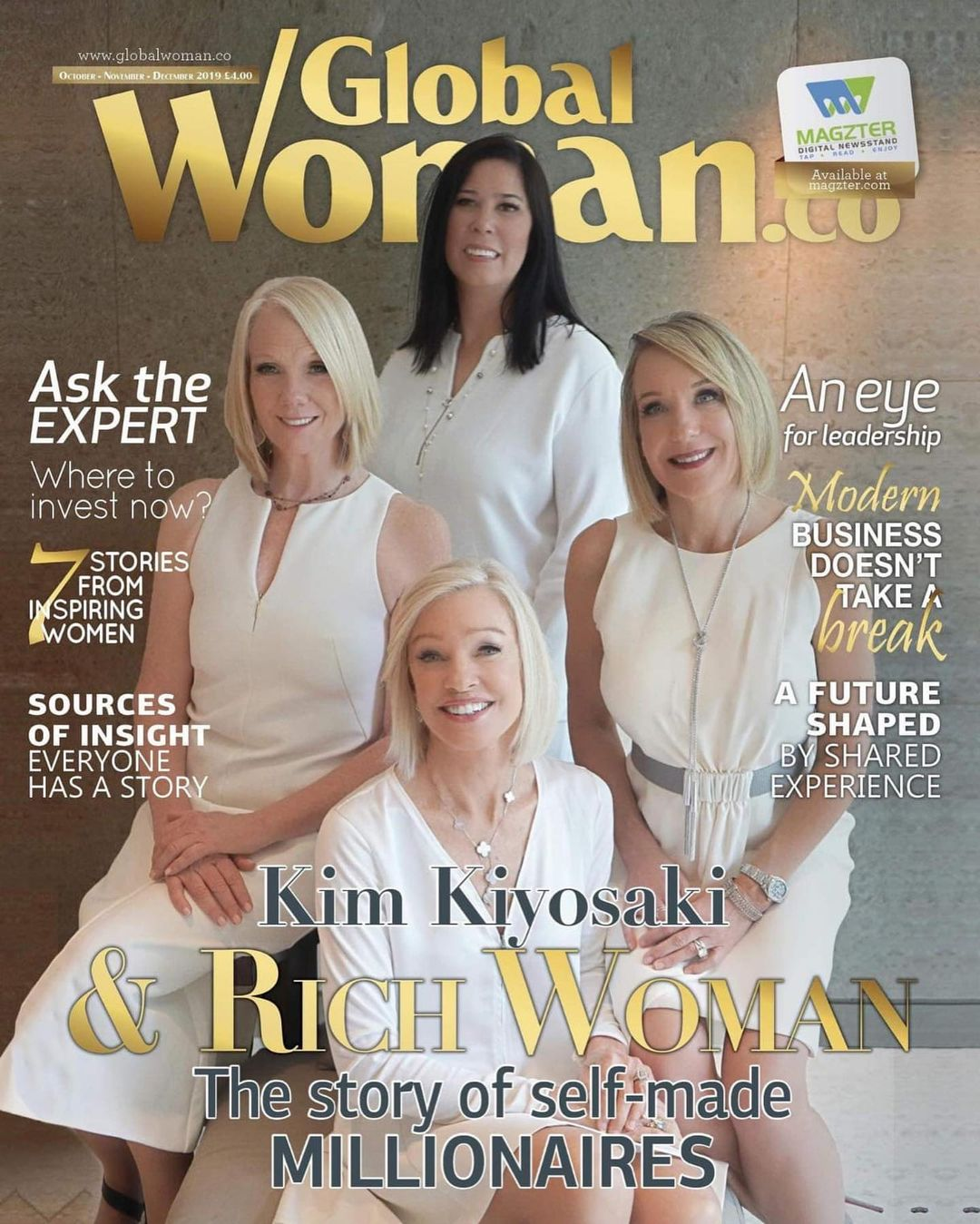 Kim Kiyosaki Rich Women