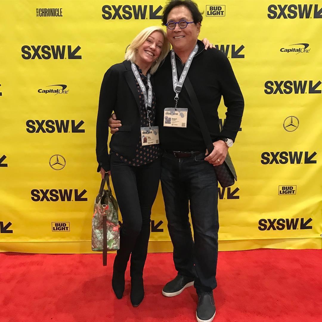 Kim Kiyosaki with Husband Robert Kiyosaki