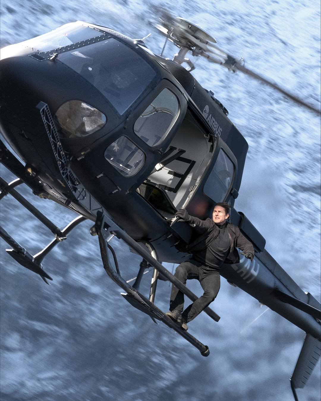 Tom Cruise Helicopter
