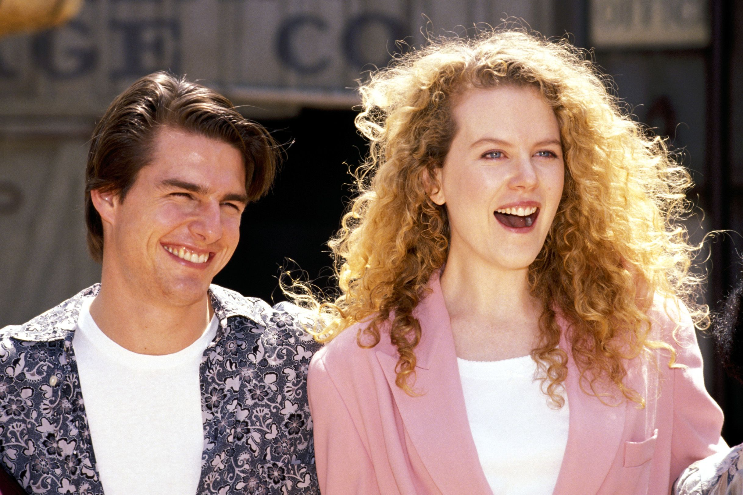 Tom and Nicole Kidman
